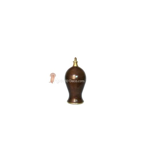 Pied de lampe Marrakech couleur Chocolat