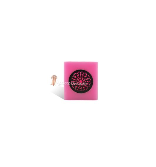 Photophore cube motif rosaceen rose